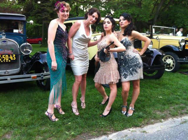 Roaring 20's Gatsby Party at Chateau Coindre Hall