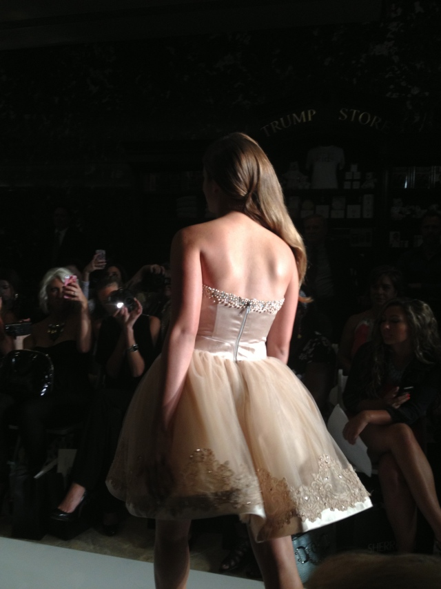Saidy Robertson's runway fashion debut at NYFW Sherri Hill Fashion Show