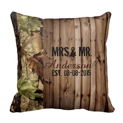 Source Pinterest: Camo wedding gift ideas