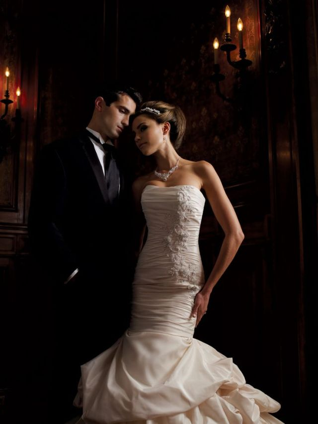 brides dress is from  www.flairfashions.com