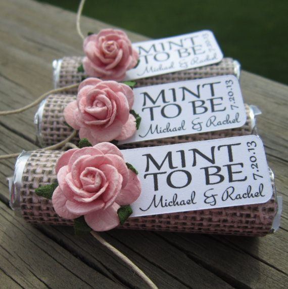 Tasteful Wedding Favor Ideas