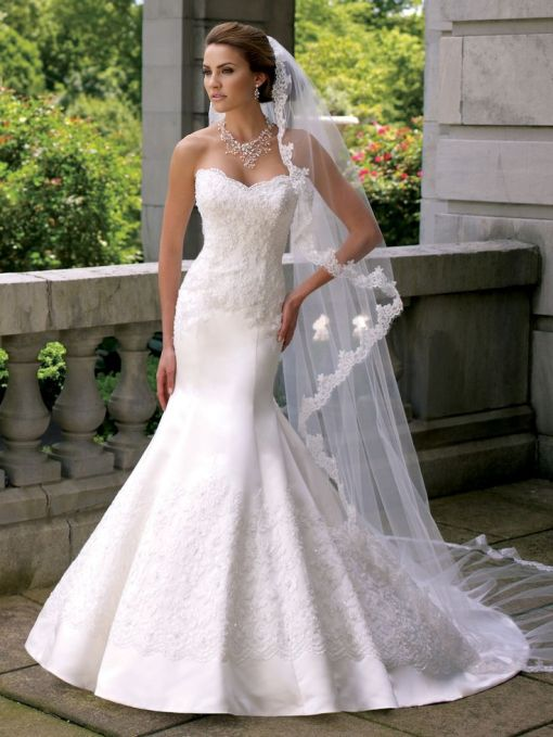 Wedding dress from : www. Flairfashions.com