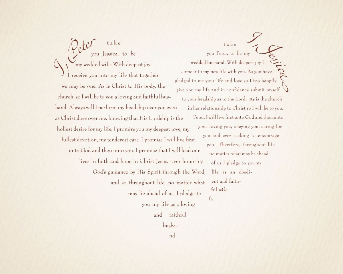 Wedding vow ideas funny 3 flair fashions share this junglespirit Image collections